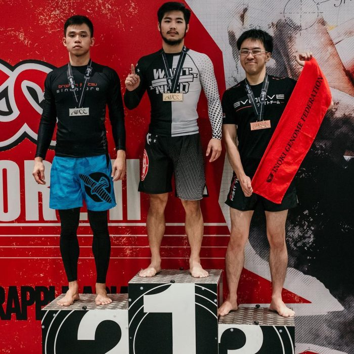 Gracie Barra Singapore's Nick Goh brings home the Gold at the ADCC no-gi BJJ tournament.