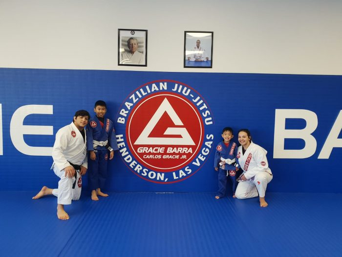 Ayden and Adriel at Gracie Barra in Las Vegas