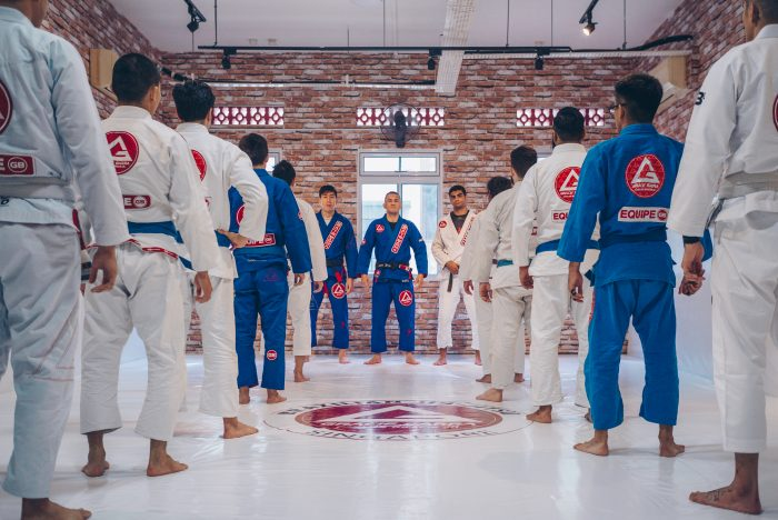 BJJ Gracie Barra Singapore