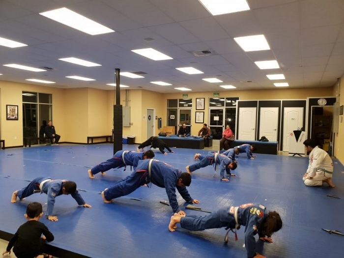 BJJ Warm Ups at GB Whittier
