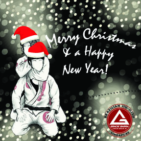 Merry Christmas from Gracie Barra Singapore